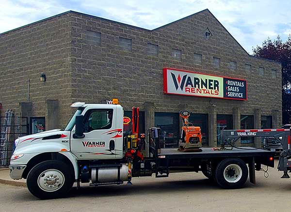 Warner Rentals rents equipment in Salmon Arm BC